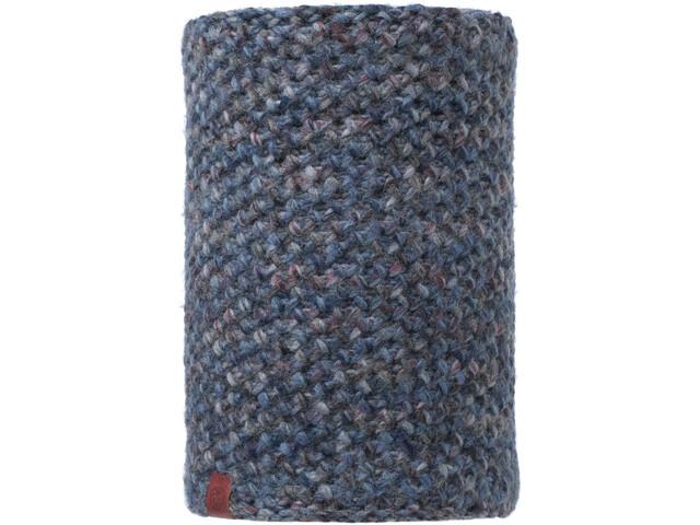 Buff Lifestyle Knitted and Polar Fleece Margo Nekwarmer, blue